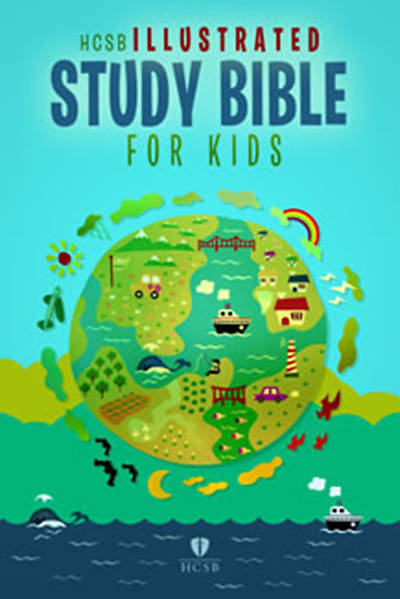 Illustrated Study Bible for Kids - HCSB