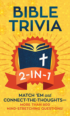 Picture of Bible Trivia 2-In-1