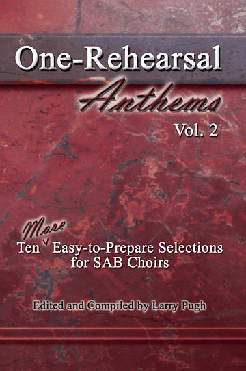One - Rehearsal Anthems Volume 2