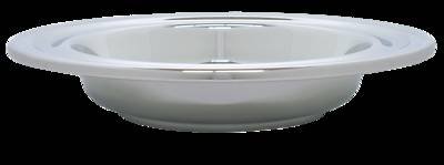 Picture of Deluxe Chrome Offering Plate with IHS Pad - Large
