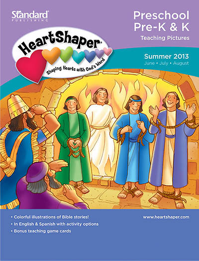 Standards HeartShaper Preschool/Pre-K & K Teaching Pictures: Summer 2013