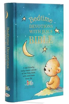 Picture of Icb, Bedtime Devotions with Jesus Bible, Hardcover