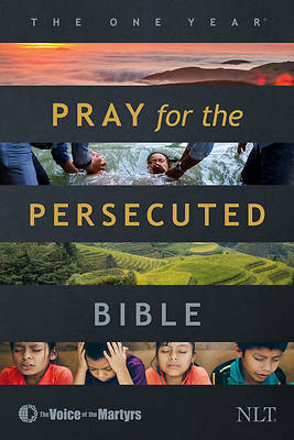 Picture of The One Year Pray for the Persecuted Bible NLT (Softcover)
