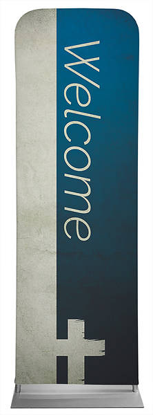 Picture of Welcome Color Block Sleeve Banner
