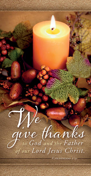 Picture of We Give Thanks Thanksgiving Offering Envelope