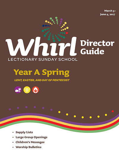 Picture of Whirl Lectionary Director Guide Spring Year A