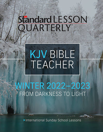 Picture of Standard Lesson Quarterly KJV Teacher Winter