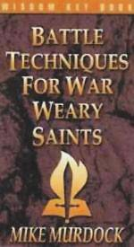 Picture of Battle Techniques for War Weary Saints