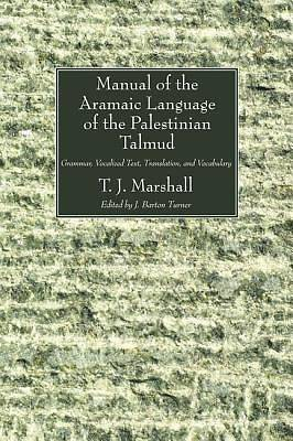 Manual of the Aramaic Language of the Palestinian Talmud