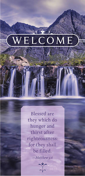 Blessed Welcome Card