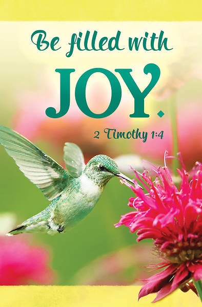 Picture of Be Filled with Joy General Regular Size Bulletin