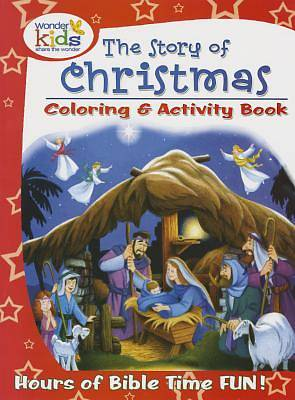 Picture of The Story of Christmas Coloring and Activity Book