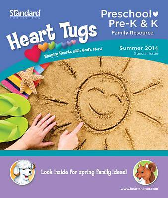 Standard HeartShaper Heart Tugs/Preschool &  PreK & K Take Home Papers Summer 2014 (pack of 5)