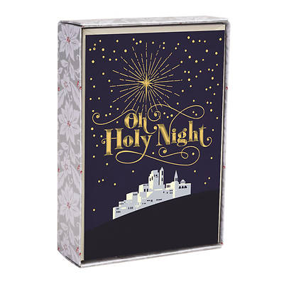 Oh Holy Night Christmas Cards Box of 18