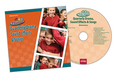 Groups Faithweaver Friends Elementary Drama: Sound Effects & Songs CD Winter 2012-13