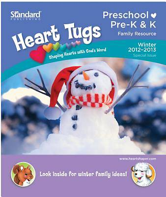 Standards HeartShaper Preschool Heart Tugs Take Home Papers Winter 2012-2013 (Pkg5)