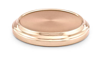 Communion Stacking Bread Plate Base - Copper