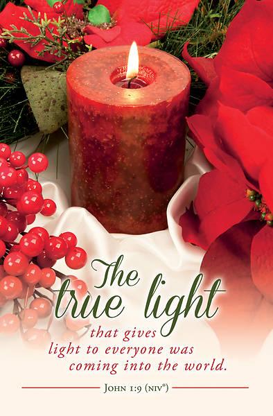 Picture of The True Light Regular Bulletin John 1:9 NIV