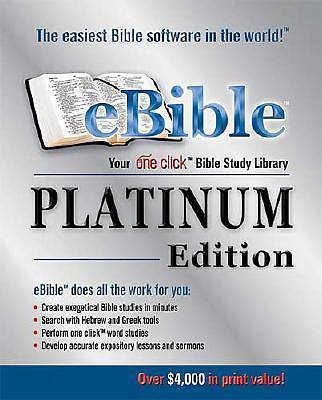 Ebible Platinum Edition