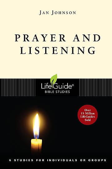 Picture of LifeGuide Bible Studies - Prayer and Listening