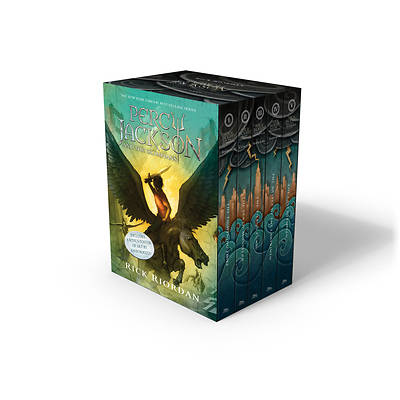 Picture of Percy Jackson and the Olympians 5 Book Paperback Boxed Set (New Covers W/Poster)