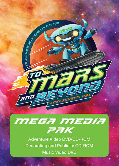 Vacation Bible School (VBS) To Mars and Beyond Mega Media Pak