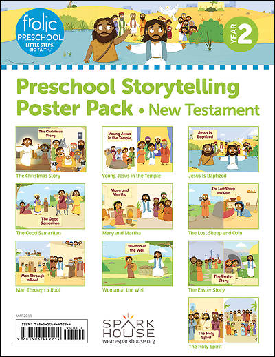 Picture of Frolic Preschool  New Testament  Year 2  Ages 3-5  Storytelling Posters