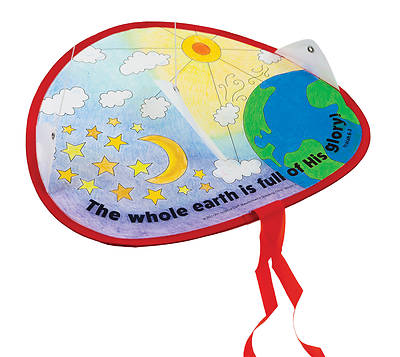 Picture of Vacation Bible School VBS 2021 God's Wonder Lab PK12 Glory to God Kite Craft