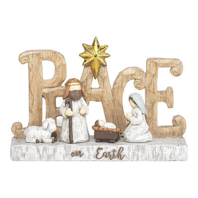 "Picture of Peace on Earth Holy Family 6"" X 3 3/4"""