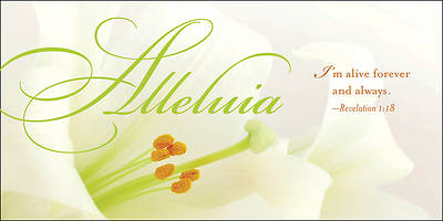 Alleluia Easter Lilies Offering Envelope (Pkg of 50)