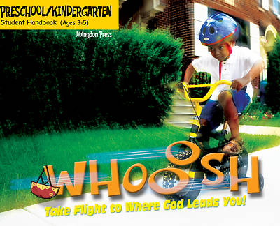Picture of Vacation Bible School (VBS) 2019 WHOOOSH Preschool/Kindergarten Student Handbook (Ages 3-5) (Pkg of 6)