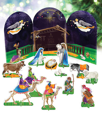 Picture of My Popout Nativity Kit For Children