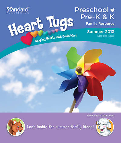 Standards HeartShaper Pre-K & K Heart Tugs Take Home Papers Summer 2013 (Pkg5)
