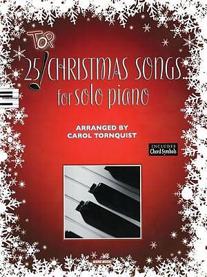 Picture of Top 25 Christmas Songs for Solo Piano
