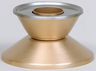 "Picture of Koleys K15 2 1/2"" Bronze Satin Candlestick"