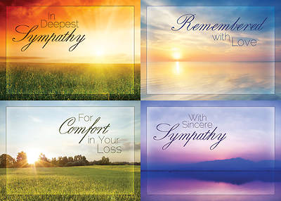 Beyond The Sunset - Sympathy Boxed Cards - Box of 12