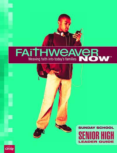 Picture of FaithWeaver NOW Senior High Leader Guide Summer 2021