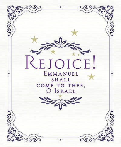 Picture of Rejoice! Advent Bulletin, Large (Pkg of 50)