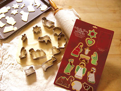Nativity Story Cookie Cutter Set
