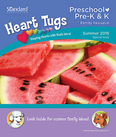 Picture of HeartShaper Preschool Take-Home Papers Pack of 5 Summer 2015