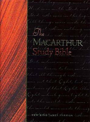 MacArthur Study Bible Black Bonded Leather