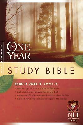 The One Year Study Bible New Living Translation