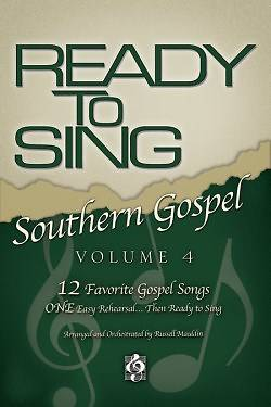 Ready To Sing Southern Gospel Volume 4 Split -Track Accompaniment CD