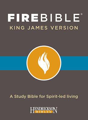 Picture of KJV Fire Bible, Black Bonded Leather Ed.