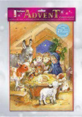 Childrens Nativity Advent Calendar