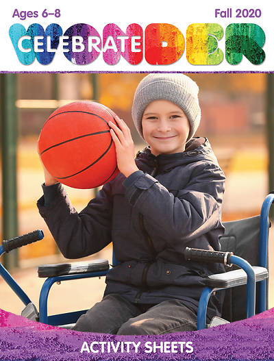Picture of Celebrate Wonder Ages 6-8 Activity Sheets Fall 2020