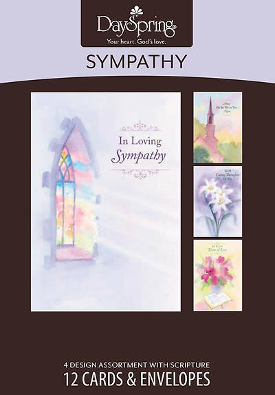 Sympathy Impressions Boxed Cards