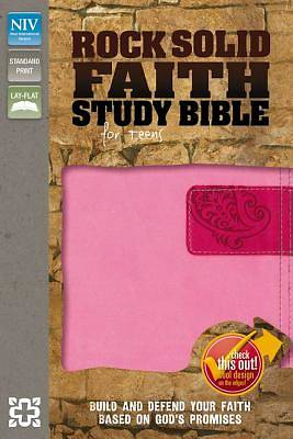 Picture of Rock Solid Faith Study Bible for Teens, NIV