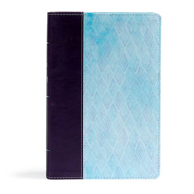 Picture of NKJV Daily Devotional Bible for Women, Purple/Blue Leathertouch
