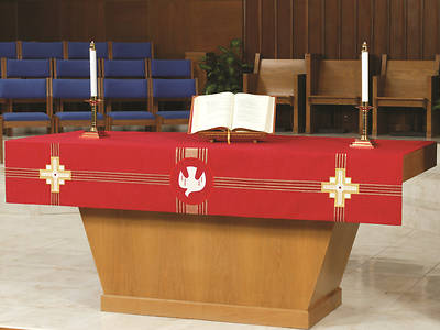 Picture of Abbott Hall Kingdom Cross NAF2558 Altar Frontal